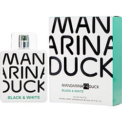 Mandarina duck black and white eau de toilette for men by mandarina duck - Mandarina home online ...